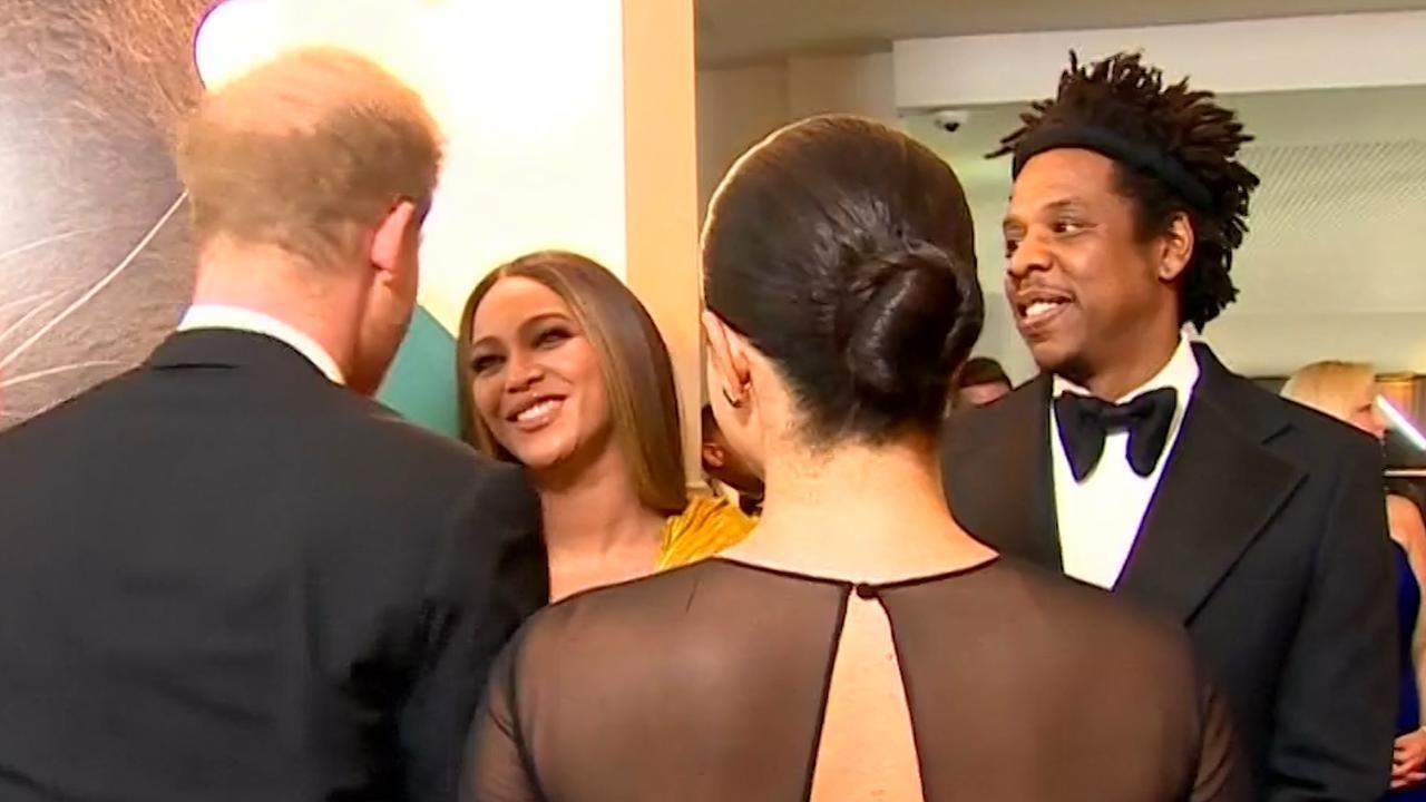 Harry en Meghan ontmoeten Beyoncé en Jay-Z in Londen