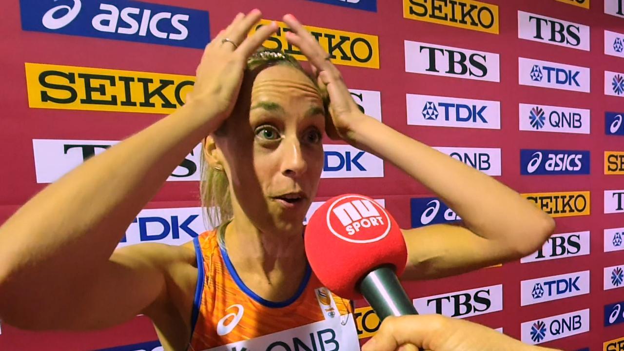 Verbaasde Krumins hoort van media dat ze pr gelopen heeft op WK