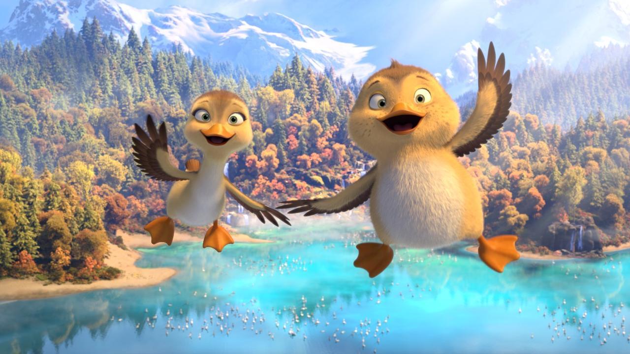 Bekijk hier de trailer van Duck Duck Goose