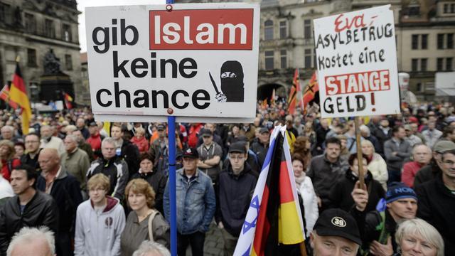 Duitse justitie onderzoekt Pegida-uitspraak