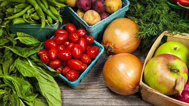 Online vooral groente en fruit gekocht