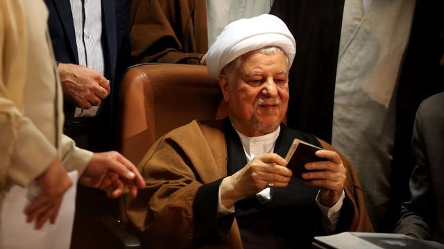Iraanse oud-president Rafsanjani overleden in ziekenhuis