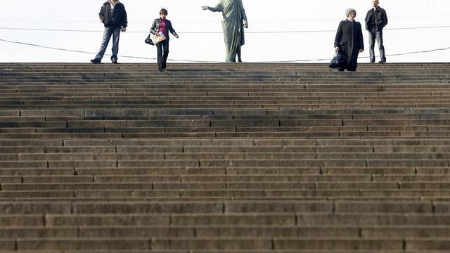 Beroemde trap van Potemkin in Odessa wordt filmerfgoed