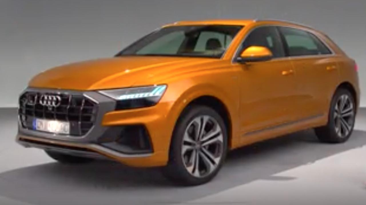 Audi onthult nieuwe Q8 met 'Dakar-achtige' vormen