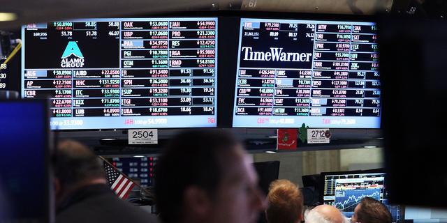 Wisselend beeld op Wall Street na halve dag