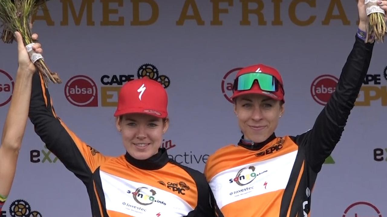 Van der Breggen wint mountainbikekoers in Zuid-Afrika