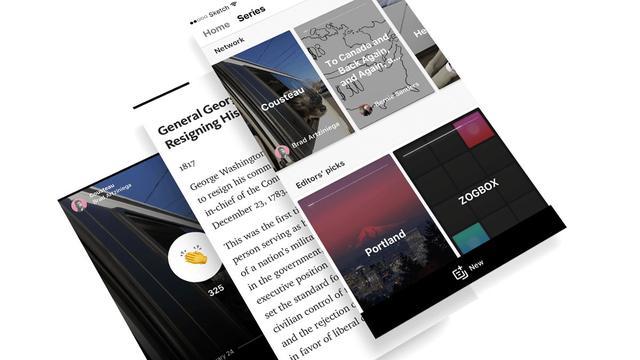 Blogdienst Medium lanceert eigen versie van Snapchat Stories