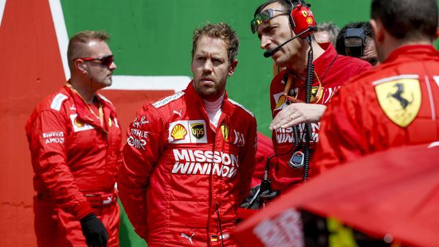 Ferrari: 'Kou tussen Vettel en Leclerc uit de lucht na crash in Brazilië'