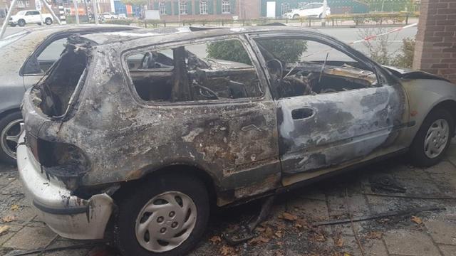 Een gewonde bij reeks branden in Spijkenisse en Hoogvliet
