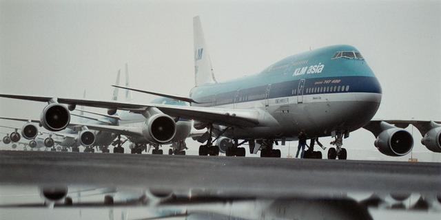Air France-KLM krijgt tik op Damrak door onzekerheid rond staatssteun