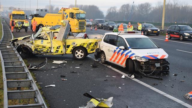 Dronken truckers veroorzaken grote ongelukken op A4 en A67