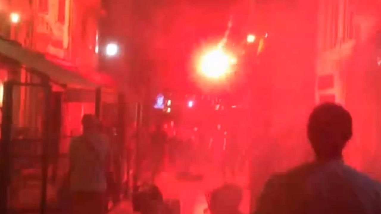 Rellen tussen Engelse en Russische fans in Marseille