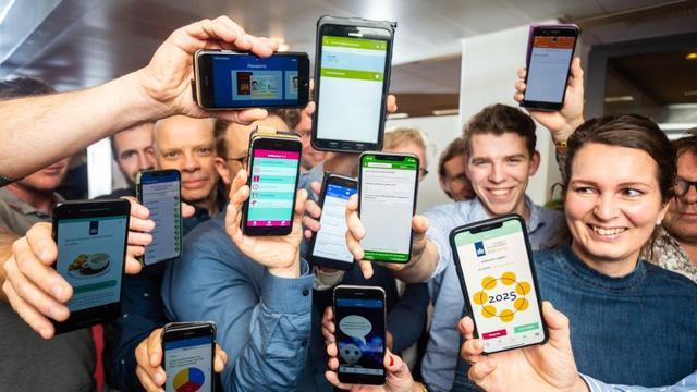 Met intelligente apps Nederland vooruit helpen