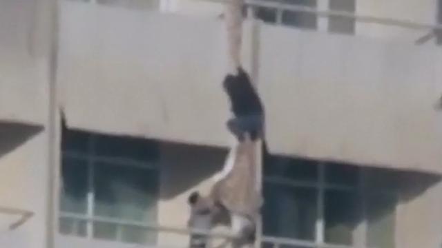 Hotelgasten proberen te ontsnappen aan aanvallers in Kabul
