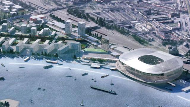 Feyenoord vraagt gemeente om 135 miljoen voor nieuw stadion
