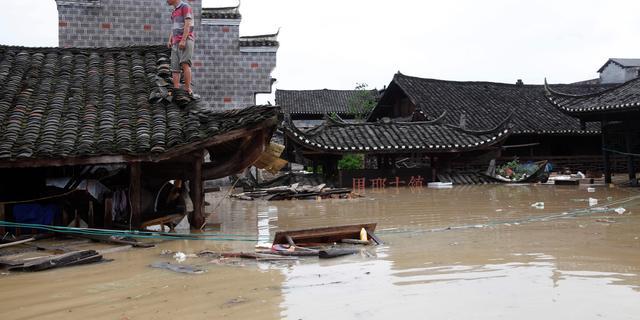 Zestien miljoen Chinezen geëvacueerd om hevige regenval