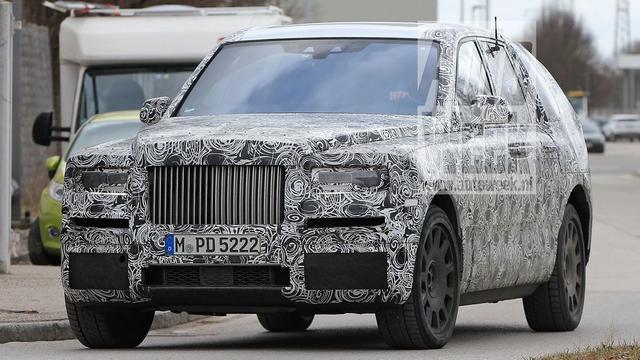 Afbeeldingen Rolls-Royce Cullinan opgedoken