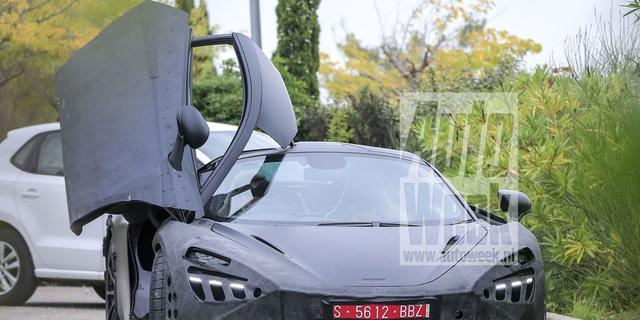 Geheimzinnige McLaren gespot