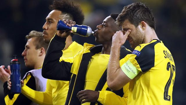 Emotionele Dortmund-spelers begrijpen niets van besluit UEFA