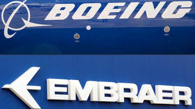 Rechter blokkeert samenwerking Boeing en Embraer