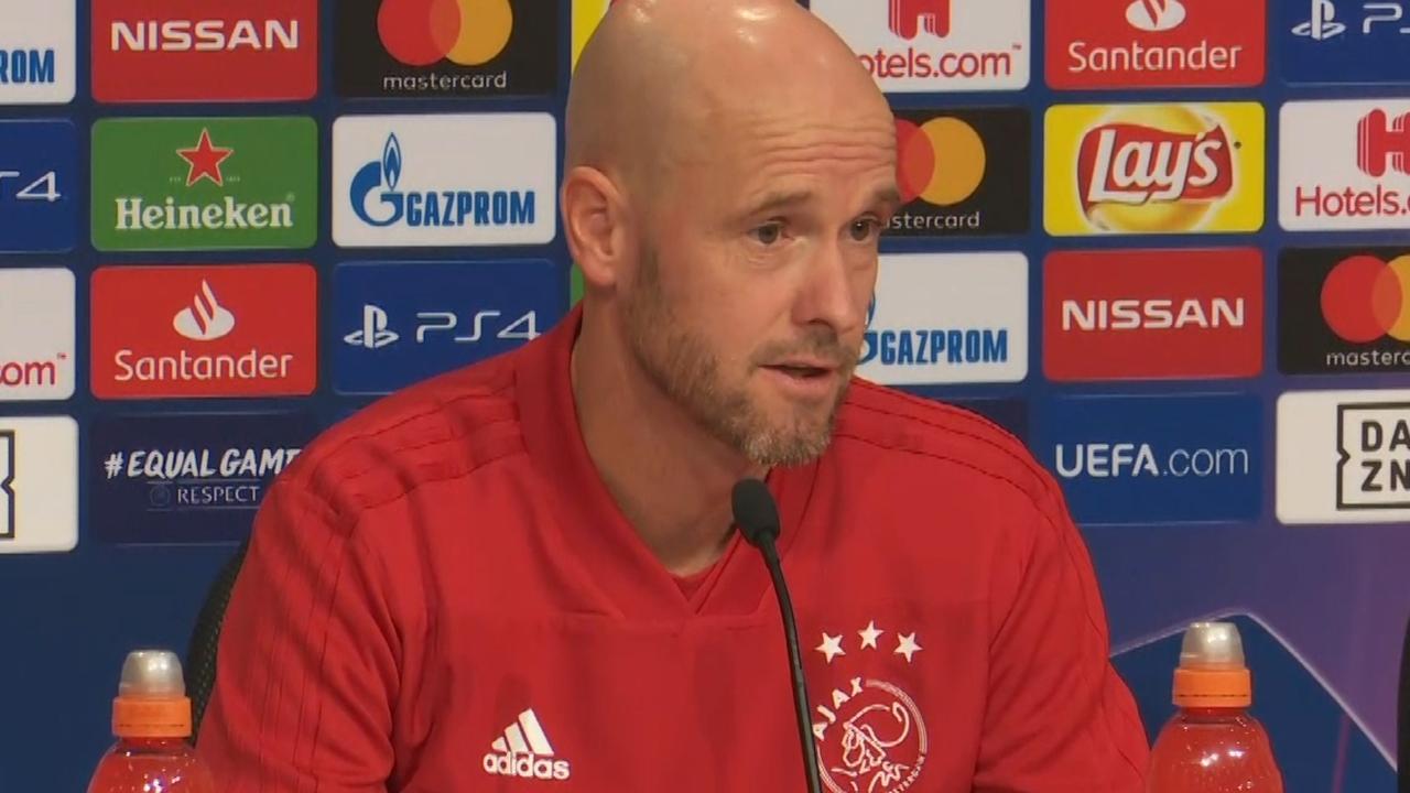 Ajax-trainer Ten Hag: 'Bayern is ondanks mindere vorm favoriet'