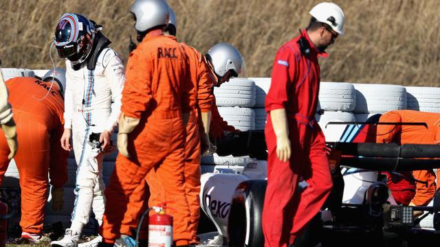 Williams-coureur Stroll bij middagsessie derde testdag opnieuw van baan