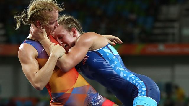 Nederlandse worstelaarster Blaszka uitgeschakeld bij olympisch debuut