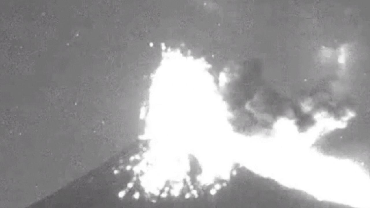 Mexicaanse vulkaan Popocatépetl barst uit