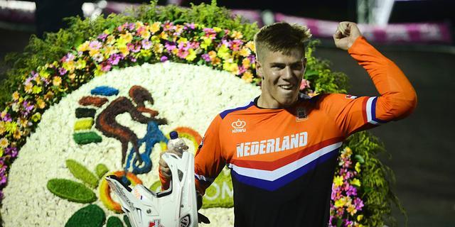 BMX'er Kimmann verovert wereldtitel op individuele tijdrit