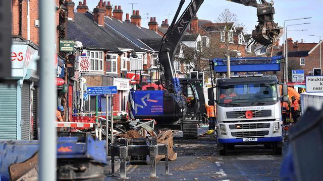 Dodental explosie Leicester gestegen naar vijf