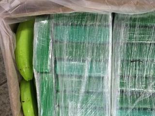Cocaïne is aangetroffen door de douane
