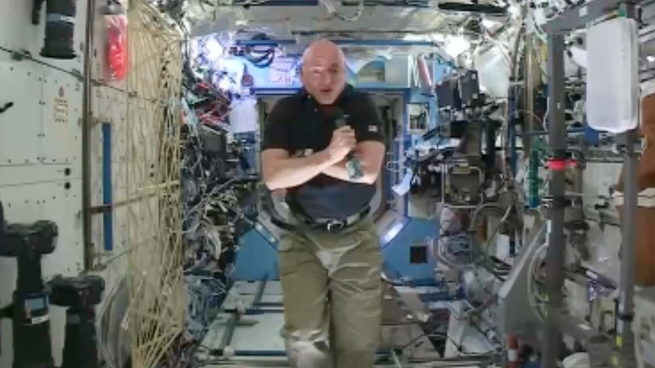 Recordastronaut Scott Kelly stopt bij NASA