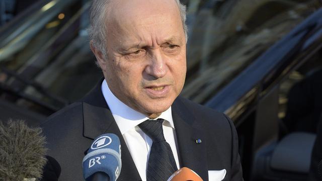 Franse minister van Buitenlandse Zaken Fabius stapt op