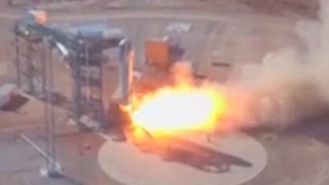 Succesvolle raketlancering voor ruimtebedrijf oprichter Amazone