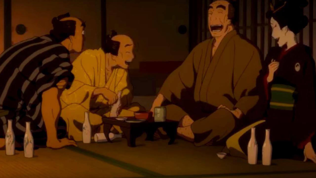 Trailer Miss Hokusai