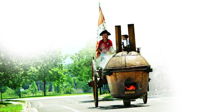 Op pad met de oudste auto ter wereld