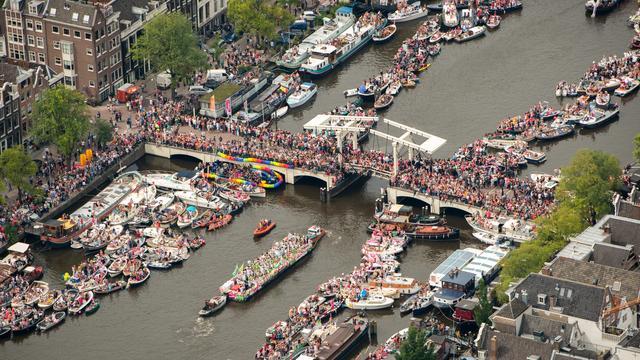 Livestream: 21e editie van de Canal Parade