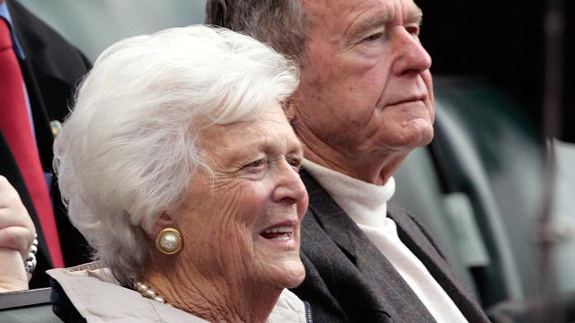 Voormalig First Lady Barbara Bush (92) overleden