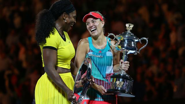 Kerber verrast titelverdedigster Williams in finale Australian Open
