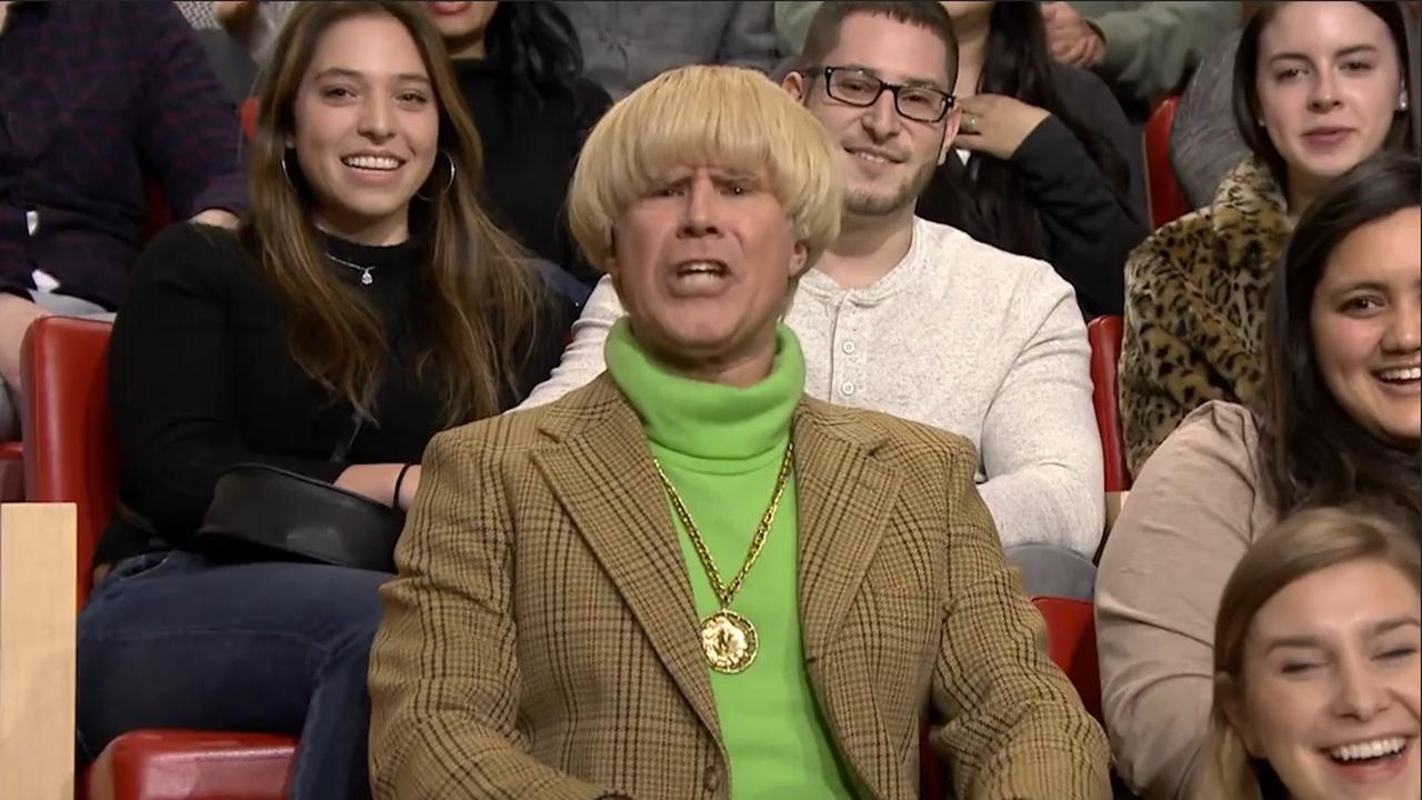 Will Ferrell verstoort optreden zingende Jimmy Fallon