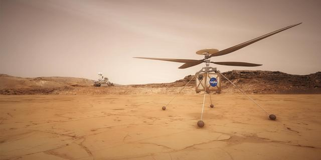 Goed nieuws: Helikoptervluchten op Mars | Groepsimmuniteit in zicht