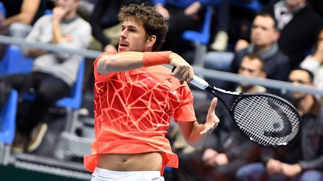 Davis Cup-team houdt Frankrijk na eerste dag op 1-1