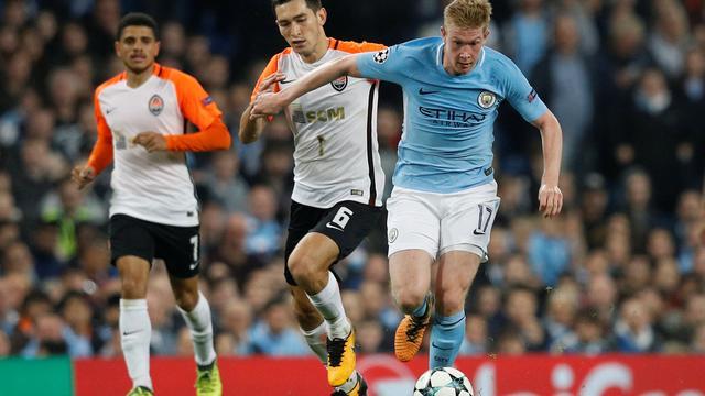 Samenvatting Manchester City-Shakhtar Donetsk (2-0)
