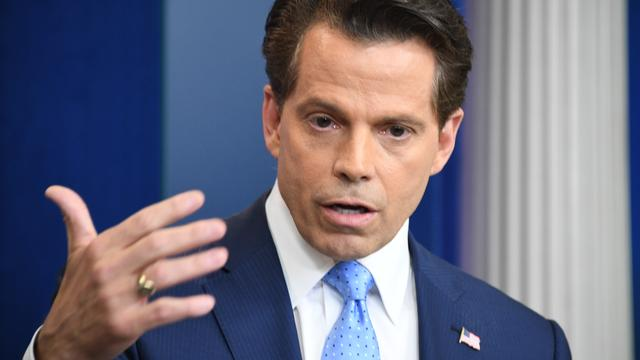 Ex-Trump-woordvoerder Anthony Scaramucci te gast in The Late Show