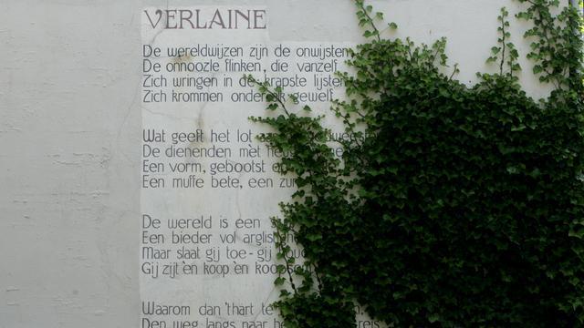 Dichter bij Bloem tijdens de Open Monumentendag