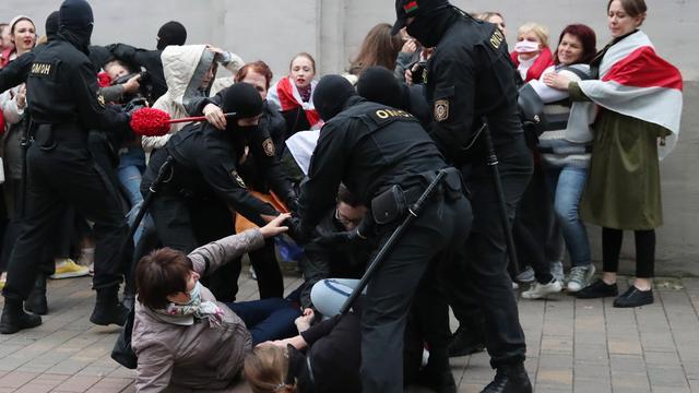 Hackersgroep Anonymous publiceert persoonsgegevens agenten Belarus