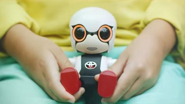 Toyota brengt kleine 'gezelschapsrobot' uit in Japan