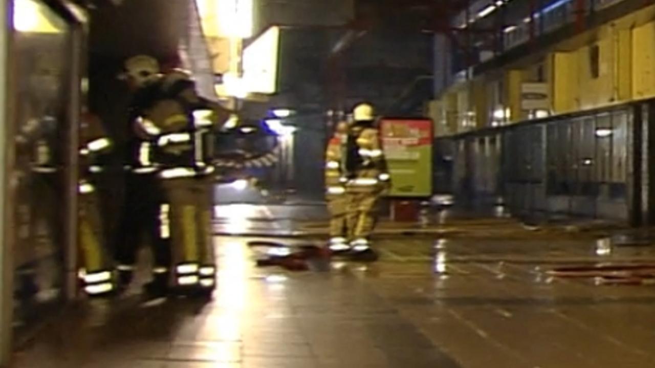 Schade aan winkels door brand in winkelcentrum Lelystad
