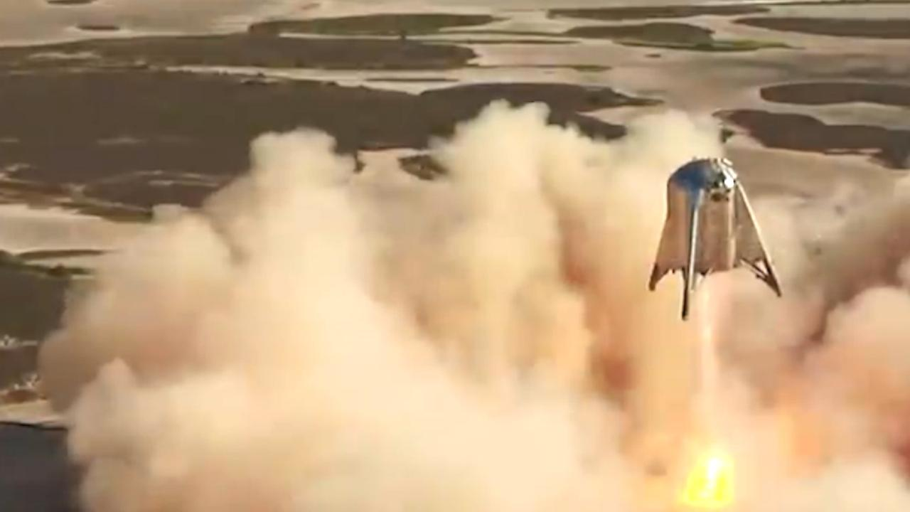 Prototype marsraket SpaceX bereikt recordhoogte