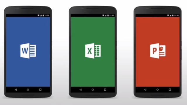 Microsoft Office ook beschikbaar voor Android-smartphones